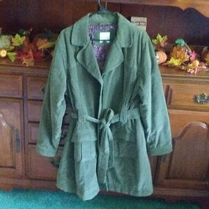 Price drop! Sonoma green corduroy jacket sz large